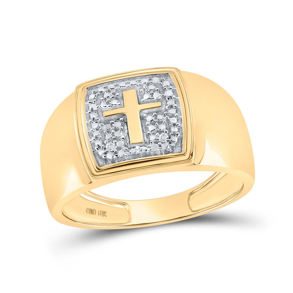 Diamond Wedding Band in 10K White Gold Size-11.25 1//8 cttw, G-H,I2-I3
