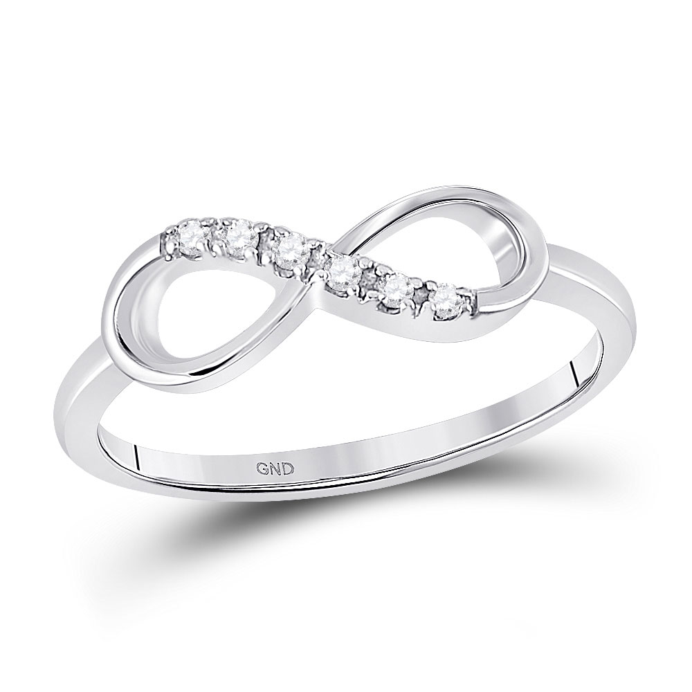 G-H,I2-I3 1//20 cttw, Diamond Wedding Band in 10K Yellow Gold Size-4